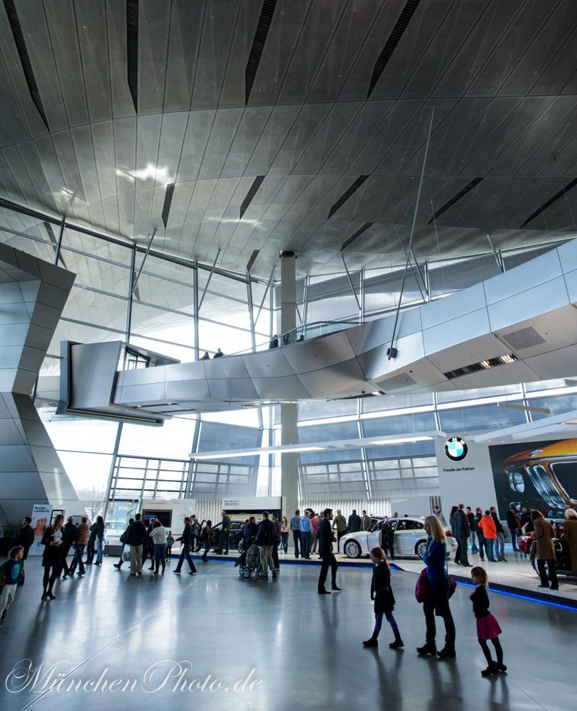 Bilder des Tages : BMW Welt in München