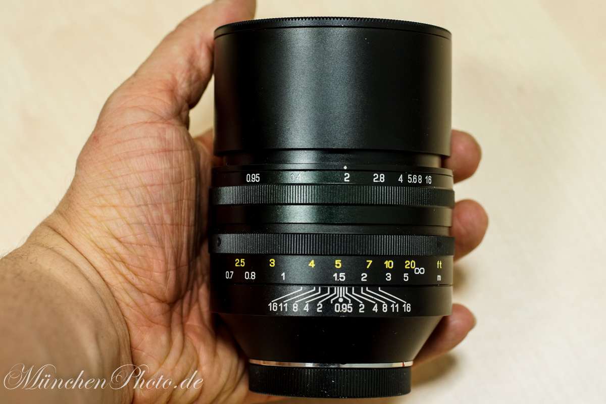 ENDLICH FERTIG : Das SLR Magic Hyperprime 50mm 0.95 LM CINE Review!