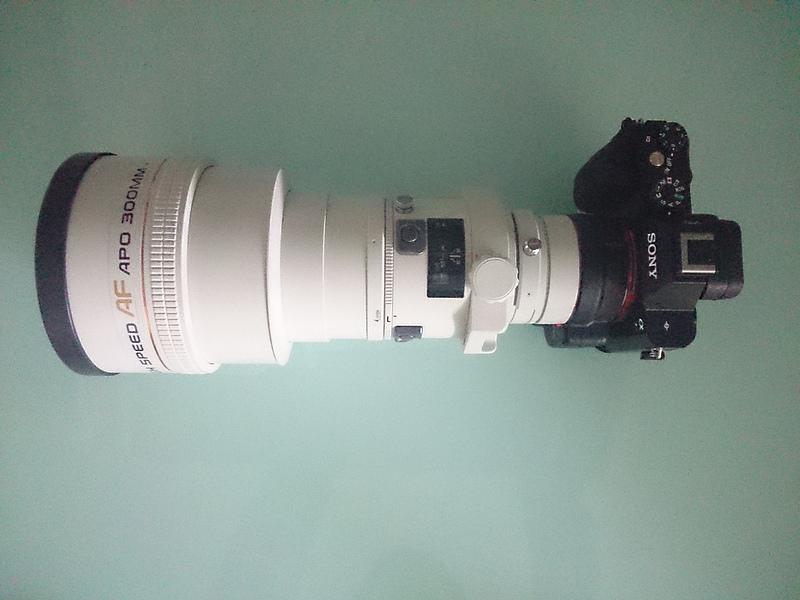 Minolta 300mm f2.8 APO G HS